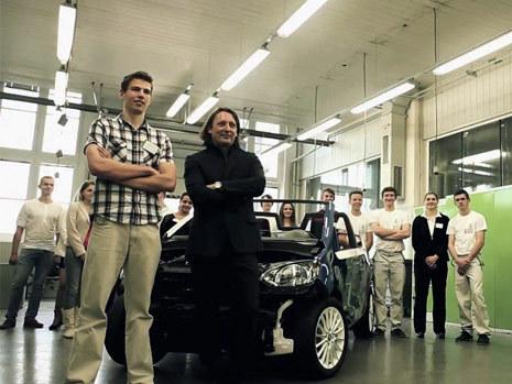 La construction du concept Skoda Citijet en vidéo