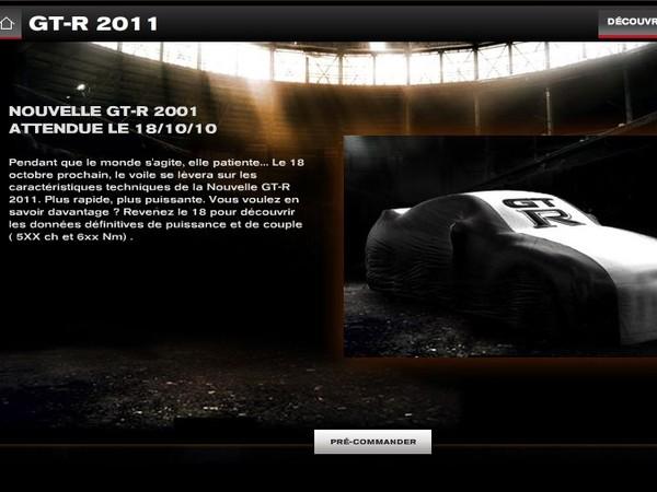 La nouvelle Nissan GT-R sera dévoilée le 18  octobre, après le Mondial de Paris