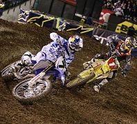 L'accrochage entre Stewart et Reed à Anaheim en images