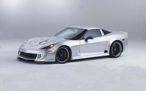 Corvette GTR Specter Werkes : 615 chevaux et une peinture Mercedes