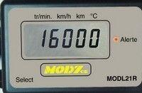 Côté Pile : le compteur Mod7 MODL21-R.