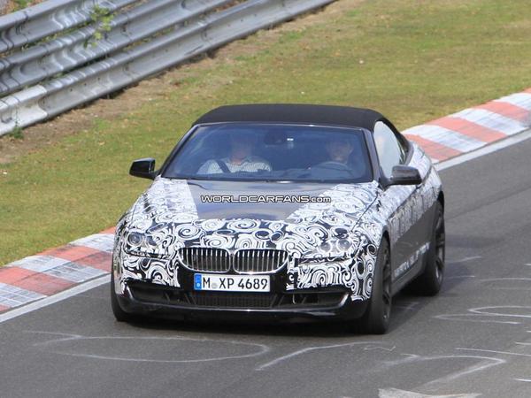Spyshot : la prochaine BMW M6 cabriolet sur le Nürburgring