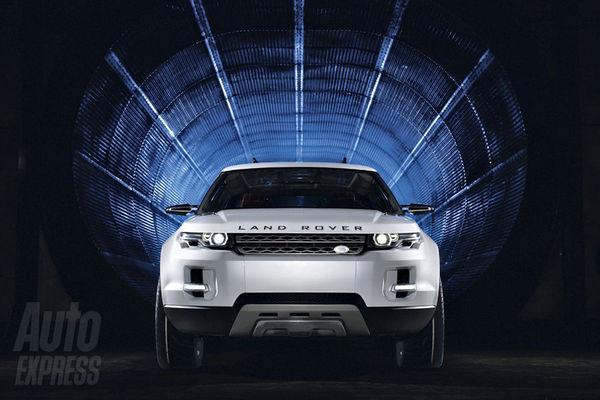 Feu vert pour le Land Rover LRX hybride