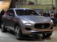 Vidéo en direct du salon de Francfort 2011 - Maserati Kubang, big bang