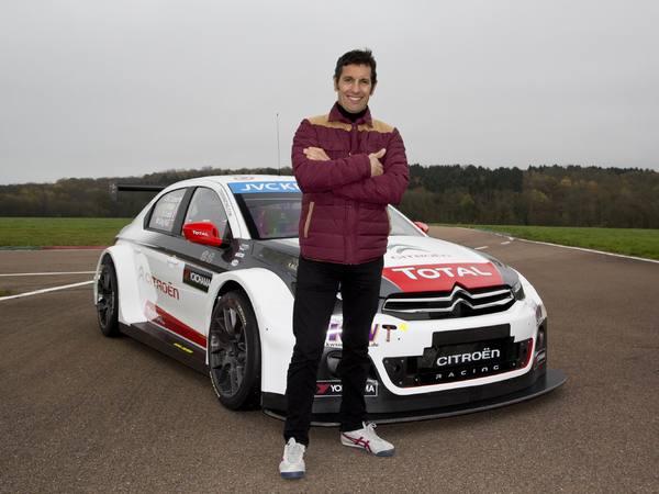 Exclusif - Soheil Ayari essaye la Citroën C-Elysee WTCC