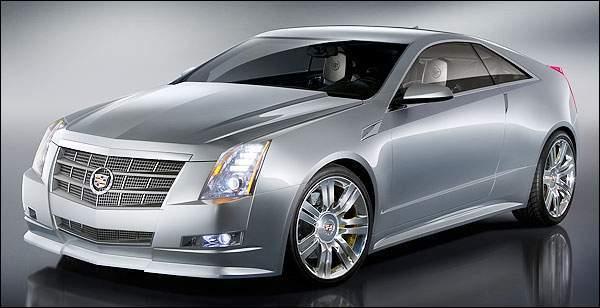Détroit 2008 : Cadillac CTS Coupé Concept, gros méchant ! (38 photos HD+1 vidéo)