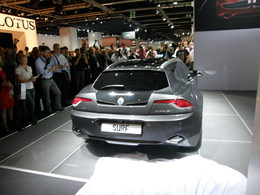 En direct du salon de Francfort  2011 : Fisker dévoile le break Surf