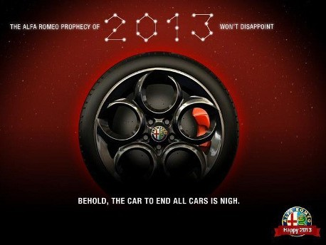 Alfa Romeo tease... sa 4C