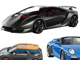 Mondial de l'auto 2010 : Lamborghini Sesto Elemento, le concept mystère a fuité