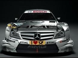 Mercedes présente sa Classe C DTM 2012