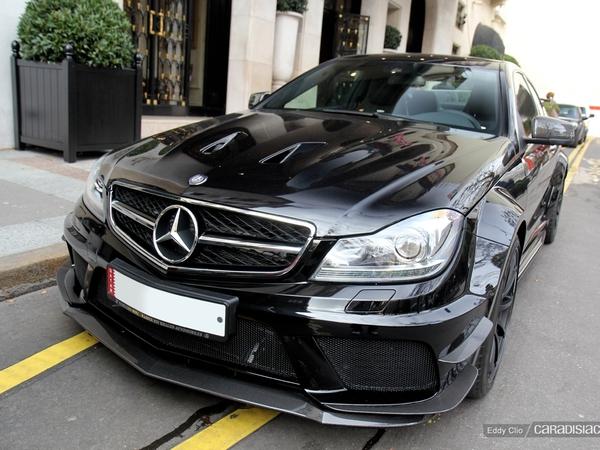 Photos du jour : Mercedes C63 AMG Coupé Black Series