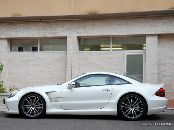 Photos du jour :Mercedes SL65 AMG Black Series