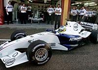 Robert Kubica passe devant à Monza