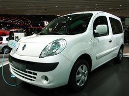 Renault annonce la production de 20 000 Kangoo ZE en 2012