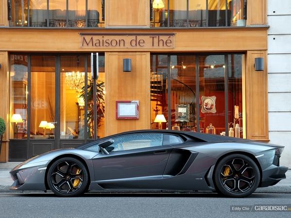 Photos du jour : Lamborghini Aventador (réponse de quizz)