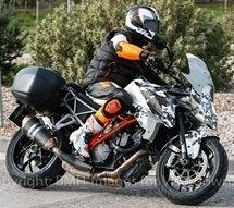 Nouveauté - KTM: la 1290 Super Duke R se fait Touring