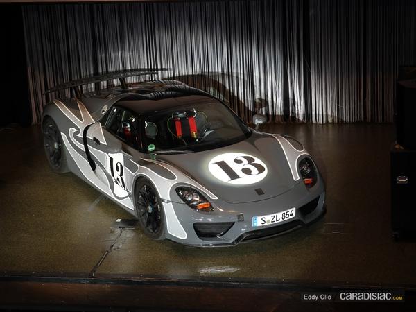 Photos du jour : Porsche 918 Spyder (Nurburgring)