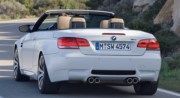 BMW M3 Cabrio : encore plus de photos officieuses