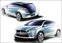 Salon de Francfort : le Concept-cX de Mitsubishi dans une ambiance bio-matériaux et dépollution !