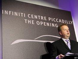Un nouveau showroom Infiniti a ouvert à Londres