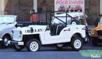 Miniature : 1/43ème - DALLAS jeep 4x4