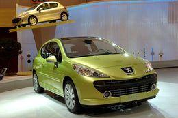 Peugeot 207, reine de France 2007