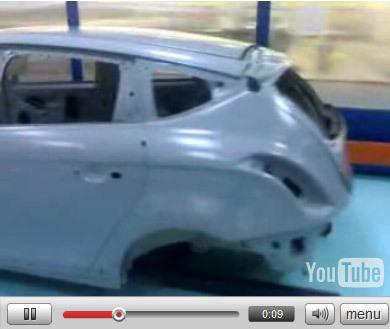 Future Lancia Delta : la vidéo dans l'usine !