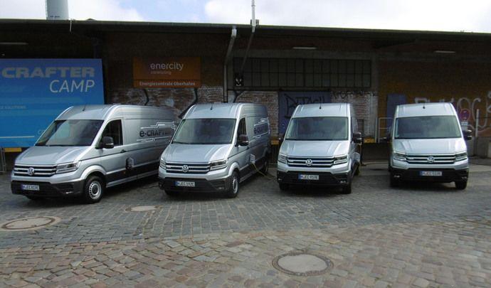 Essai – Volkswagen e-Crafter: une offre VUL électrique cohérente