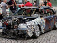 Saucisse du vendredi : Audi A4 rat's style