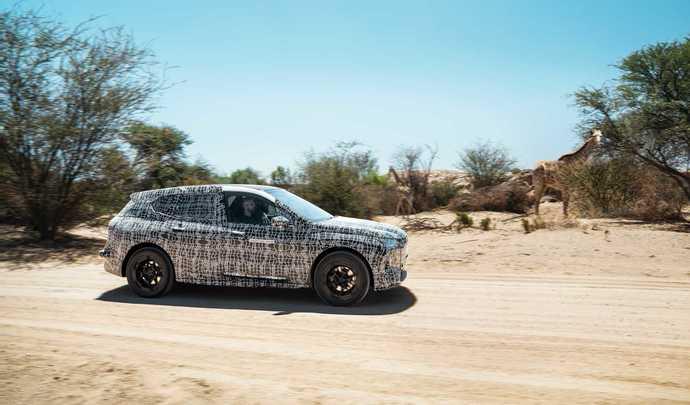 BMW dévoiledes images duSUV électrique iNext