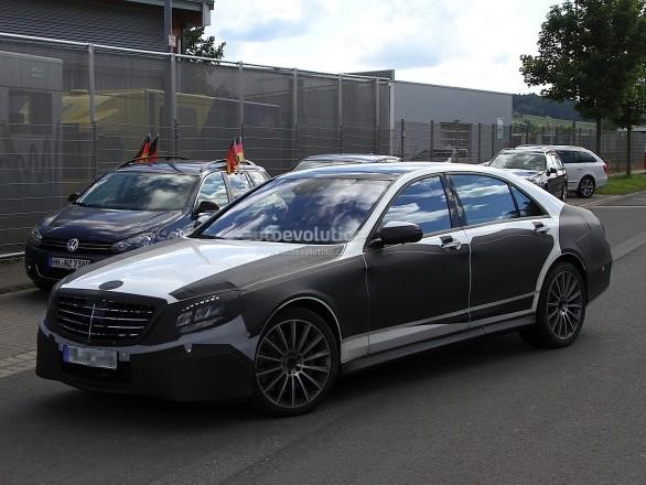 La Mercedes Classe S coupé pour remplacer la CL
