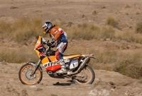 Dakar 2007 : étape 8, cailloux, sable et oasis.