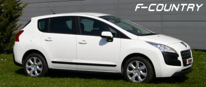 Peugeot 3008 F-Country: motricité renforcée