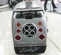 La Pagani Zonda à deux roues