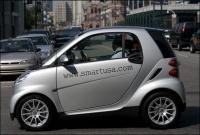 États-Unis : la Smart, une petite auto qui voit grand