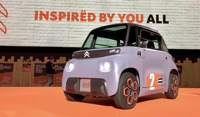 Présentation vidéo - Citroën Ami (2020) : l'anti-Renault Twizy à 19,99 € par mois