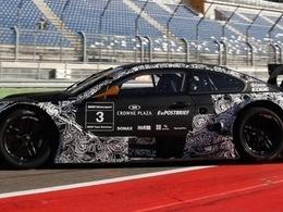 Essais positifs pour la BMW M3 DTM