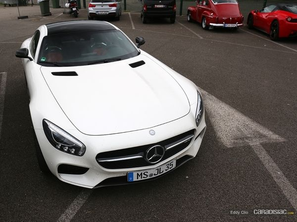 Photos du jour : Mercedes-AMG GT (Modena Track Days)