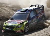 WRC-Rallye de Pologne: Les Ford sont en tête !