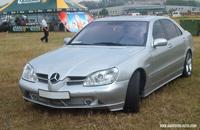 Mercedes W220 SLR ADDesign. Parfum de saucisse