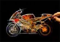 Vidéo moto : Pub Aprilia RSV 1000