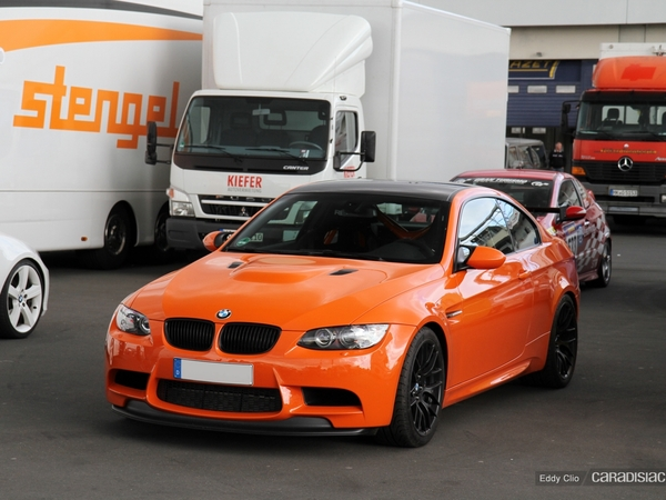 Photos du jour : Bmw M3 GTS (Nürburgring)