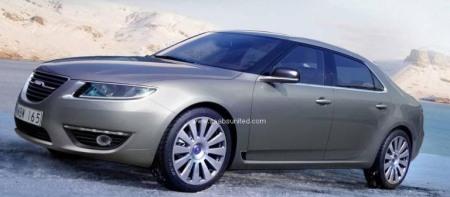 Nouvelle Saab 9-5: c'est elle!