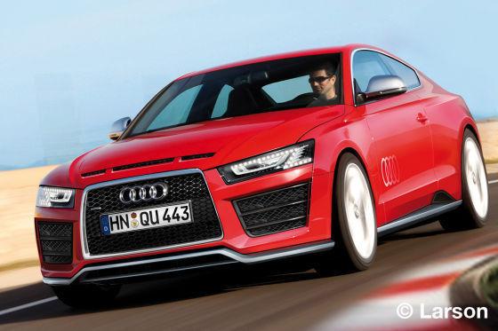 """Future Audi A5 """"Ur-Quattro"""": radicale à tout point de vue"""