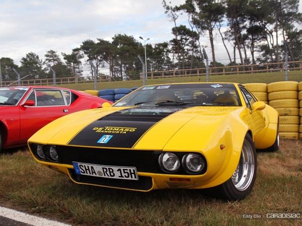 Photos du jour : DeTomaso Mangusta SS GT (Le Mans Classic - Réponse de quizz)