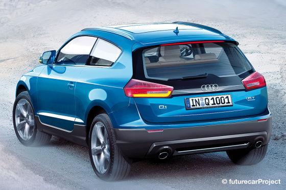 Audi: la famille des Q à venir