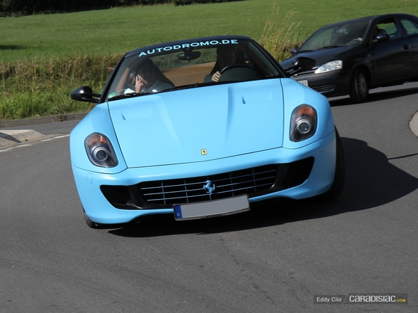 Photos du jour : Ferrari 599 GTB (Nürburgring)