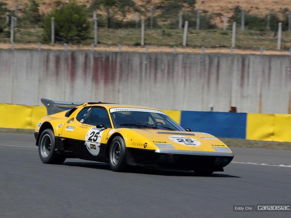 Photos du jour : Ferrari 512 BB Competizione (Le Mans Classic)