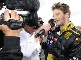 Grosjean poursuit ses essais avec LRGP