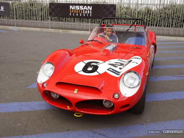 Photos du jour : Ferrari 330 TRI 1962 (Le Mans Classic)